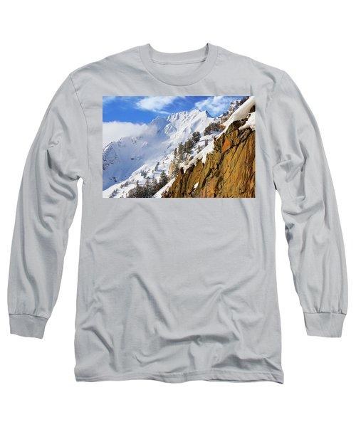 Big Cotonwood Canyon Long Sleeve T-Shirt