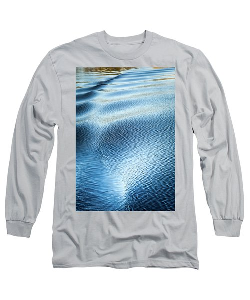 Long Sleeve T-Shirt featuring the photograph Blue On Blue by Karen Wiles