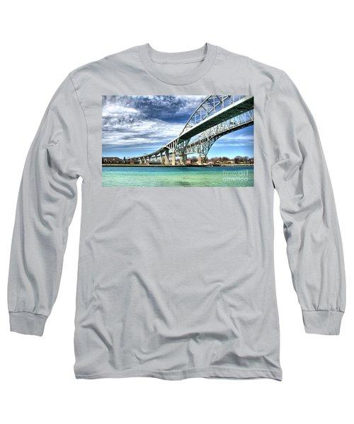 Blue Water Bridge Long Sleeve T-Shirt