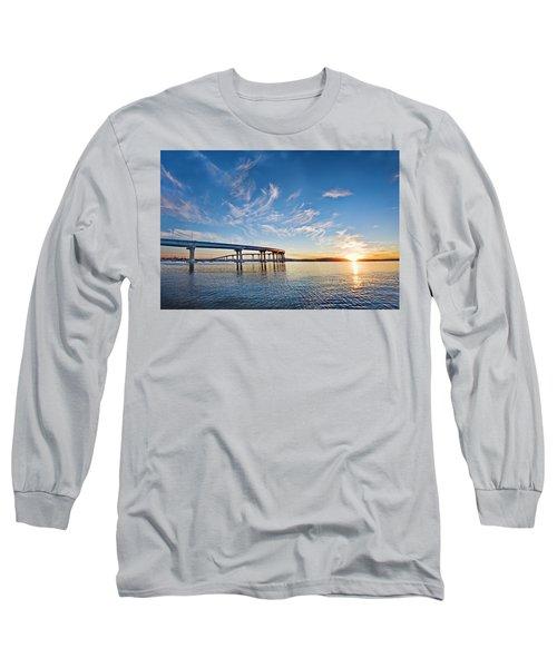 Bridge Sunrise Long Sleeve T-Shirt