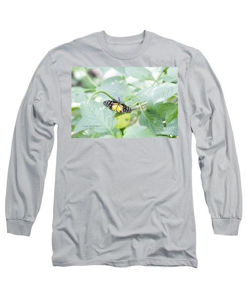 Tiger Butterfly Long Sleeve T-Shirt