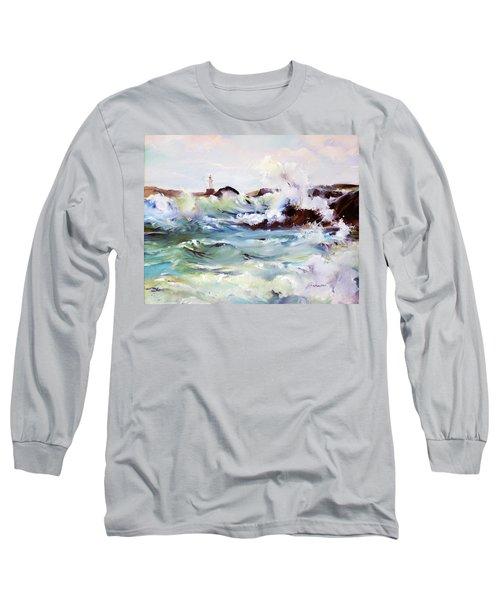 Churning Surf Long Sleeve T-Shirt