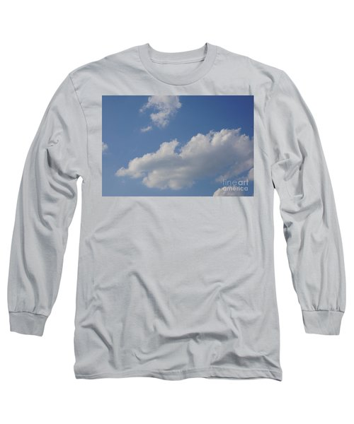 Clouds 15 Long Sleeve T-Shirt by Rod Ismay
