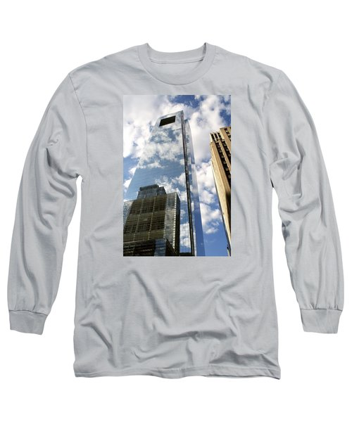 Comcast Center Long Sleeve T-Shirt by Christopher Woods