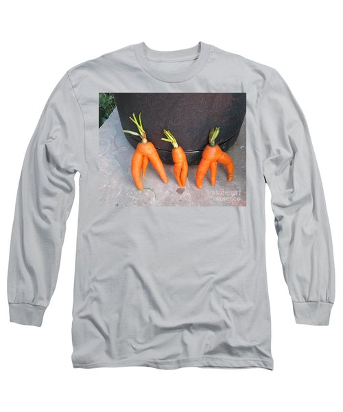 Couldn't Hold It Long Sleeve T-Shirt