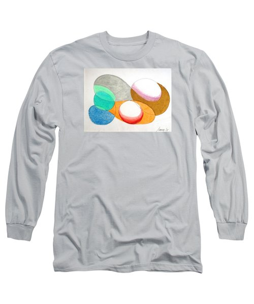 Curves And Things Long Sleeve T-Shirt by Rod Ismay