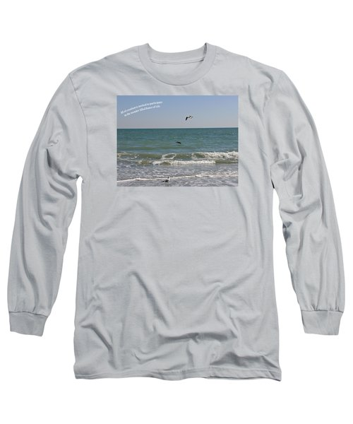 Long Sleeve T-Shirt featuring the photograph Dance Of Life by Rhonda McDougall