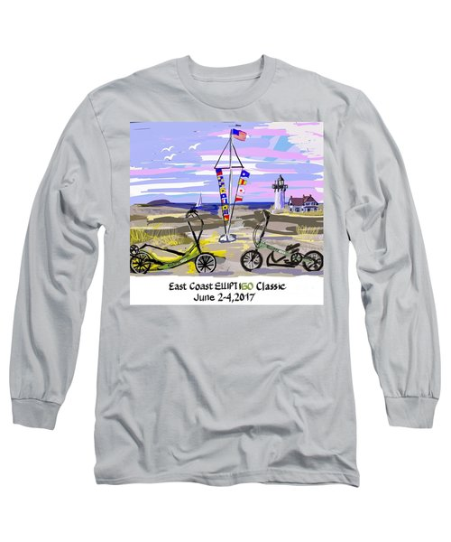 East Coast Elliptigo Classic Long Sleeve T-Shirt