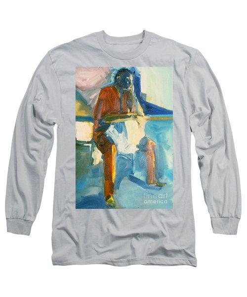 Ernie Long Sleeve T-Shirt by Daun Soden-Greene