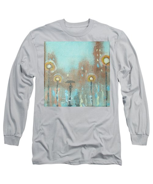 Long Sleeve T-Shirt featuring the painting Evening Stroll by Raymond Doward