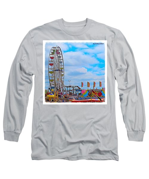 #exploring The #austin, #texas #rodeo Long Sleeve T-Shirt