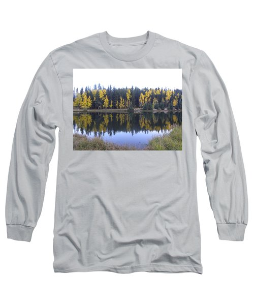 Potty Pond Reflection - Fall Colors Divide Co Long Sleeve T-Shirt