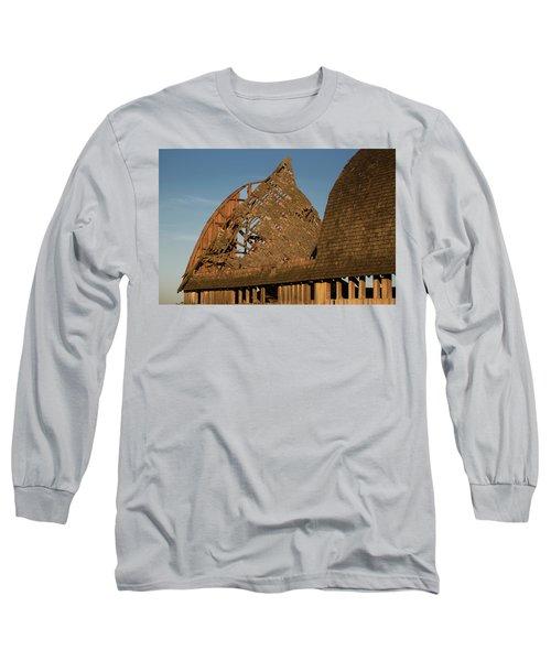 Long Sleeve T-Shirt featuring the photograph Falling Apart by Elvira Butler