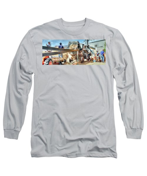 Filling The Sack 3485 Long Sleeve T-Shirt by Jerry Sodorff