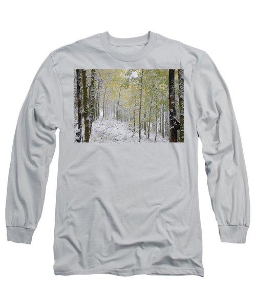 First Snow Fall Long Sleeve T-Shirt