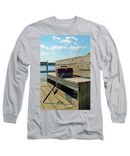 Fishin' Pole Long Sleeve T-Shirt