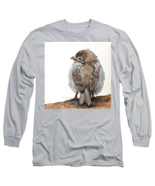 Fledgling Sparrow Long Sleeve T-Shirt
