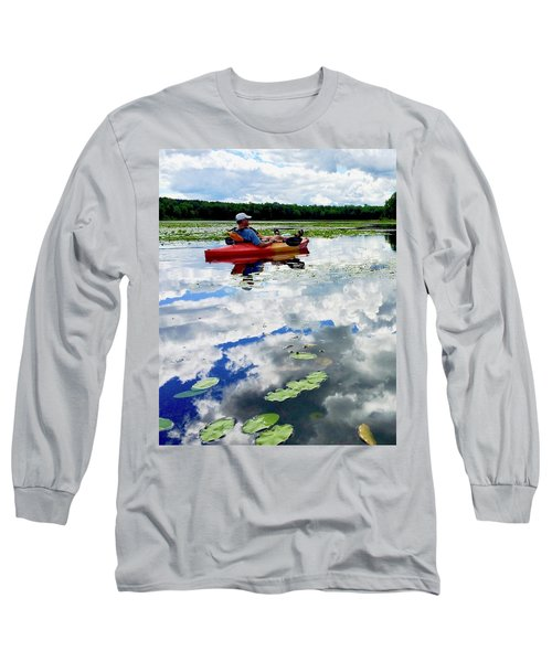 Floating In The Sky Long Sleeve T-Shirt