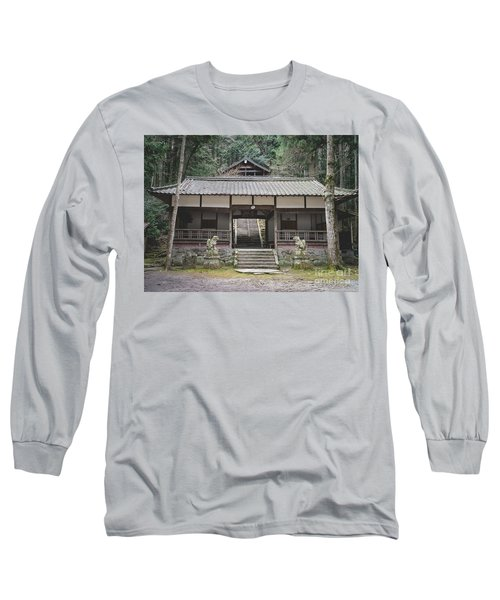 Forrest Shrine, Japan Long Sleeve T-Shirt