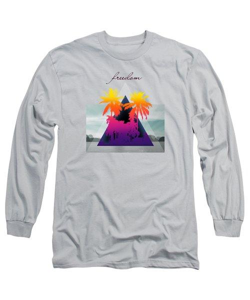 Freedom  Long Sleeve T-Shirt by Mark Ashkenazi