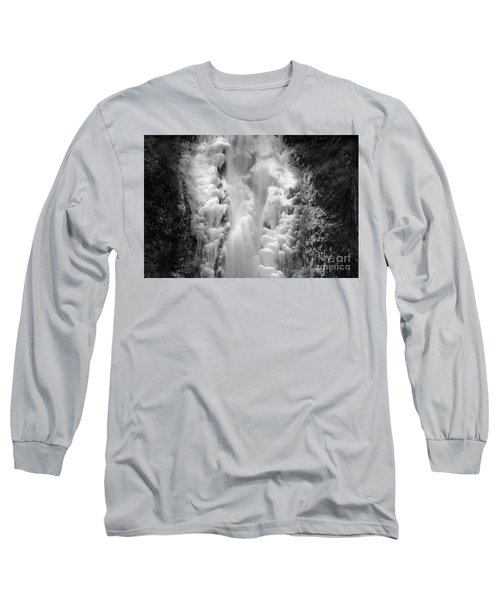 Frozen Multnomah Falls Long Sleeve T-Shirt