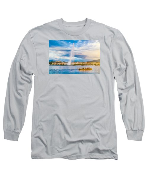 Geneva Long Sleeve T-Shirt by JR Photography
