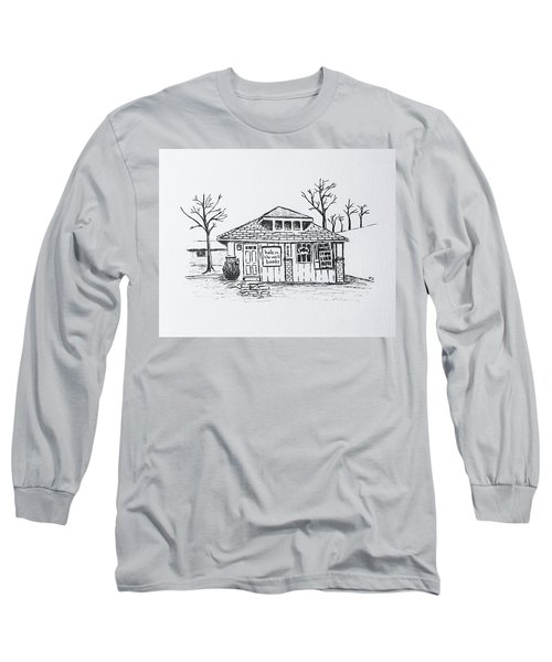 Hole In The Wall Books Long Sleeve T-Shirt