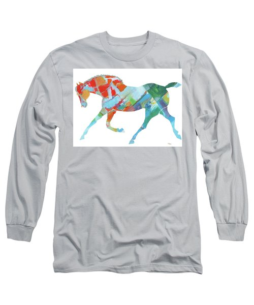 Horse Of Color Long Sleeve T-Shirt