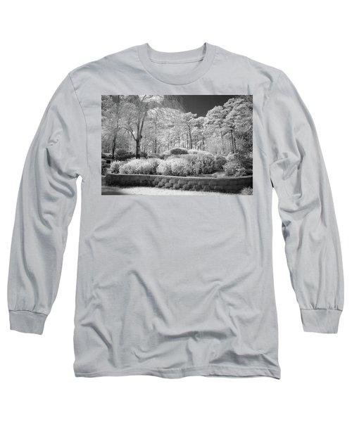 White Forrest Long Sleeve T-Shirt