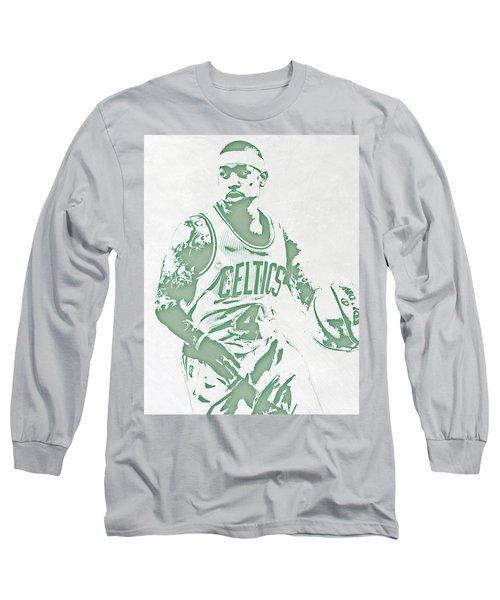 Isaiah Thomas Boston Celtics Pixel Art Long Sleeve T-Shirt