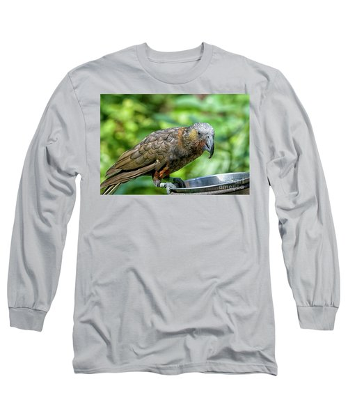 Long Sleeve T-Shirt featuring the photograph Kaka by Patricia Hofmeester