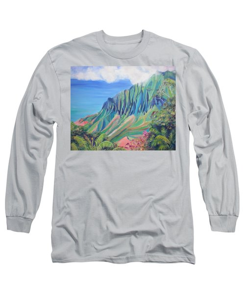 Kalalau Valley Long Sleeve T-Shirt