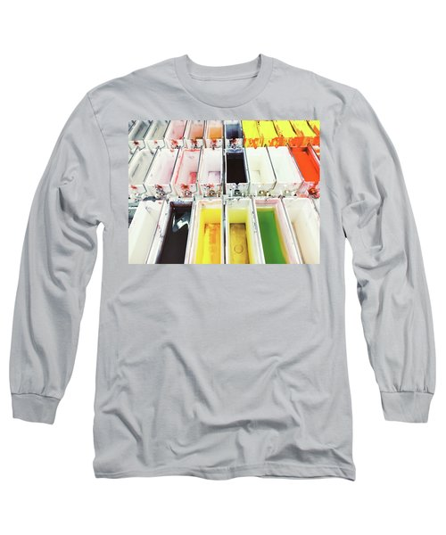 Laboratory Tissue Stains Long Sleeve T-Shirt