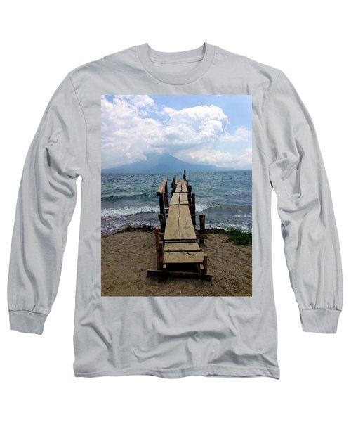 Lake Atitlan Dock Long Sleeve T-Shirt