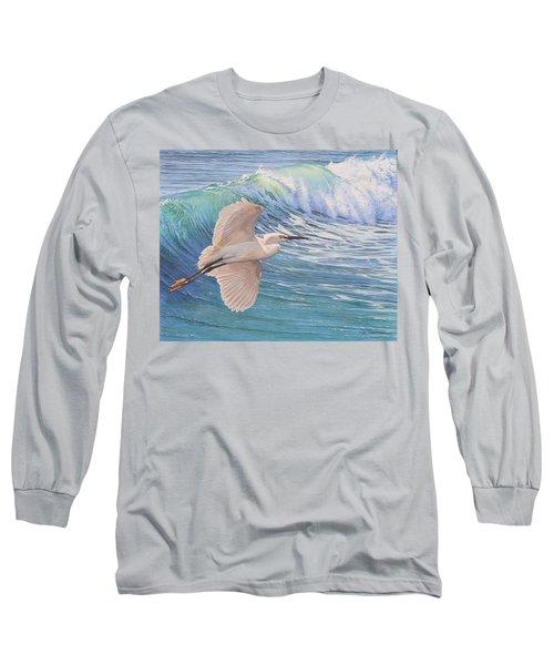 Little Egret Long Sleeve T-Shirt