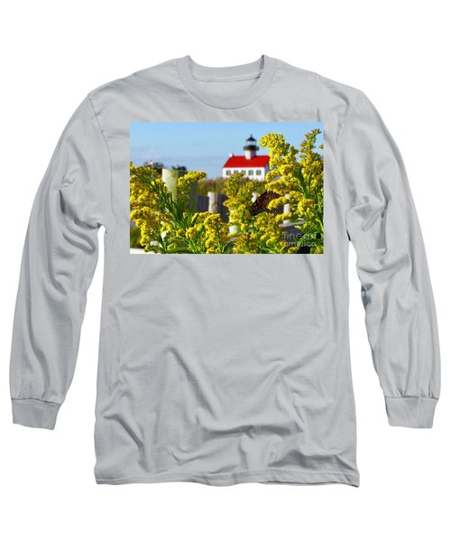 Monarch At East Point Light Long Sleeve T-Shirt