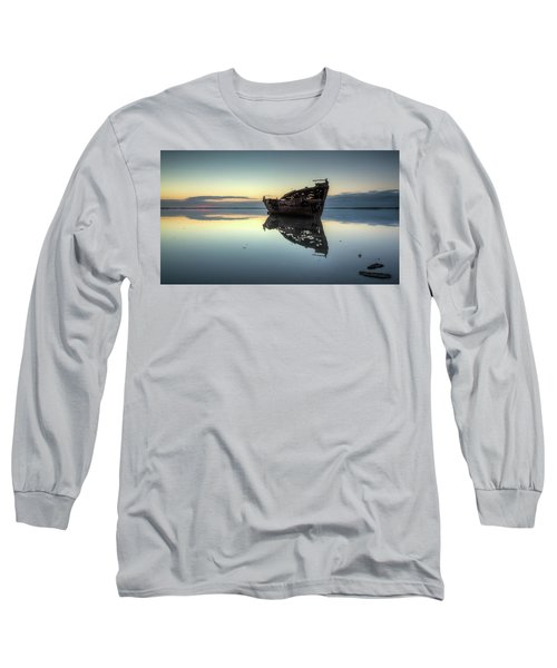 Motueka Sunrise 1 Long Sleeve T-Shirt by Brad Grove