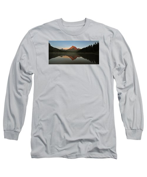 Mount Wilbur, Glacier National Park Long Sleeve T-Shirt