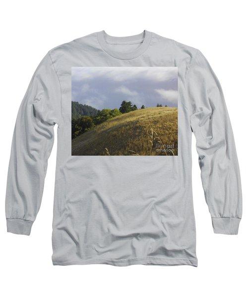Mt. Tamalpais Study #1 Long Sleeve T-Shirt