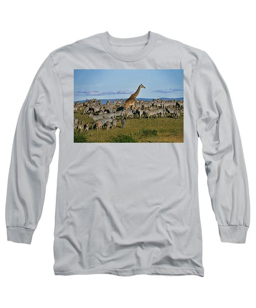 Odd Man Out Long Sleeve T-Shirt