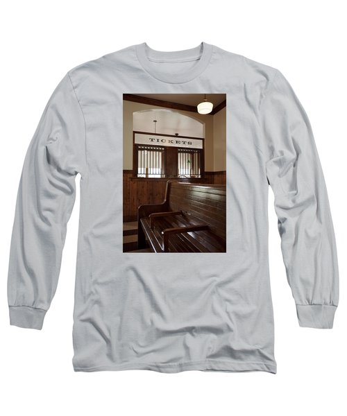 Old Time Train Station Long Sleeve T-Shirt