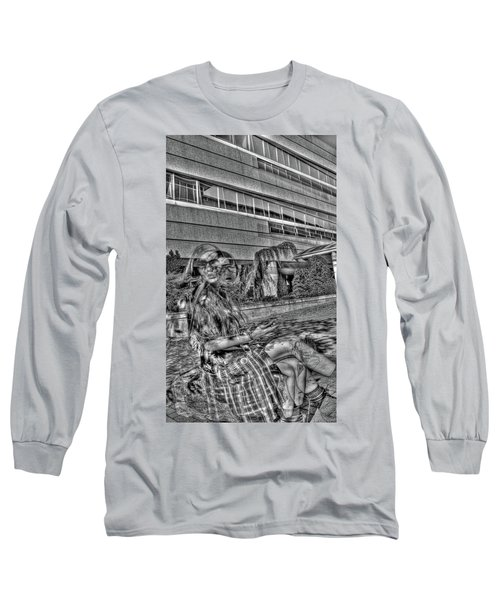 Long Sleeve T-Shirt featuring the photograph Out Of Phase 2 by Andy Lawless