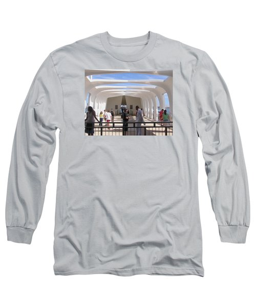 Pearl Harbor Remembered Long Sleeve T-Shirt by Jewels Blake Hamrick