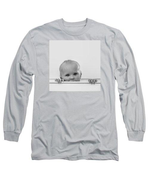 Peek A Boo Long Sleeve T-Shirt by Karen Lewis