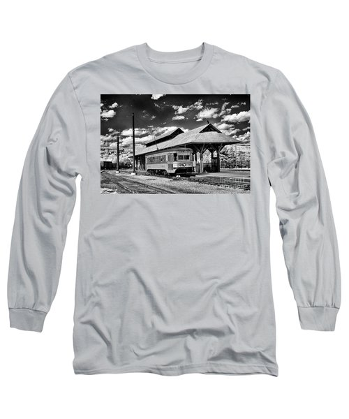 Long Sleeve T-Shirt featuring the photograph Philadelphia Trolley by Paul W Faust - Impressions of Light