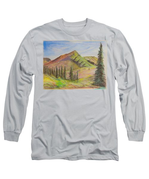 Pines On The Hills Long Sleeve T-Shirt