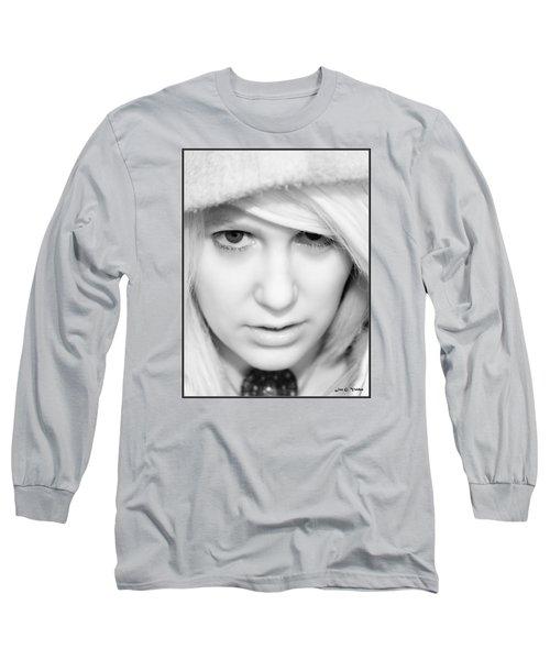 Portrait Of A Sorceress Long Sleeve T-Shirt