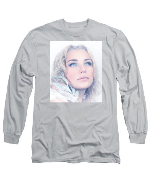 Portrait Of Gorgeous Female Long Sleeve T-Shirt