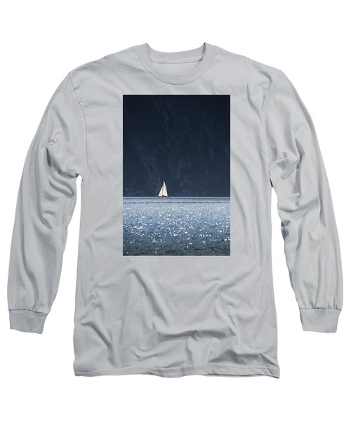 Long Sleeve T-Shirt featuring the photograph Sailboat by Chevy Fleet