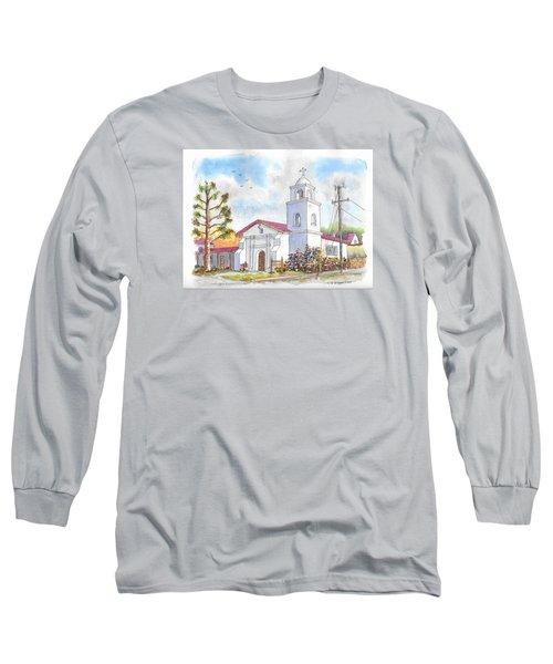 Santa Cruz Mission, Santa Cruz, California Long Sleeve T-Shirt